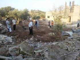 LAGI, ISRAEL GUSUR RUMAH PALESTINA