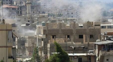 RIBUAN WARGA PALESTINA TERLANTAR AKIBAT BENTROKAN DI KAMP LIBANON