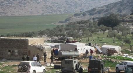 ISRAEL HANCURKAN RUMAH DAN FASILITAS PERTANIAN DI TUBAS
