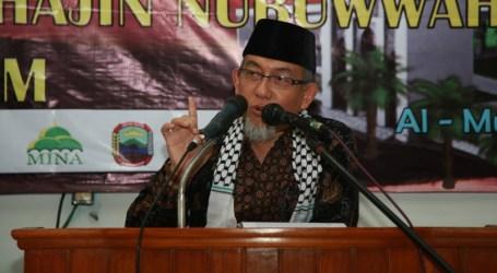 IMAAMUL MUSLIMIN BERHARAP INTIFADHAH III AKAN BEBASKAN AL-AQSA DAN PALESTINA