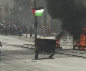 bentrokan palestina