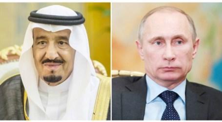 Raja Salman Ditelepon Presiden Putin, Bahas Krisis Suriah