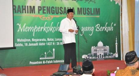Bupati Lamsel : Penerapan Metode Usaha Islam Cetak Pengusaha Tangguh