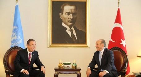 Sekjen PBB Bertemu Walikota Istanbul Bahas Terorisme dan Pengungsi