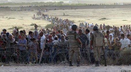 Lebih 100.000 Orang Terjebak di Perbatasan Turki-Suriah