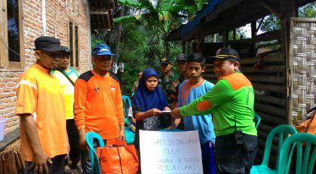 UAR Salurkan Bantuan Korban Longsor Banjarnegara