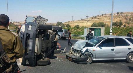 Pejuang Palestina Tabrak Mobil Militer Israel, Tiga Serdadu Terluka