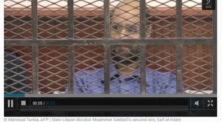 Pengacara: Putra Muammar Gaddafi Bebas dari Penjara