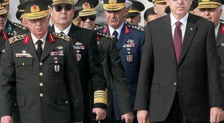 Erdogan Naikkan Pangkat 99 Kolonel Menjadi Jenderal