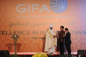 Jokowi Dapat Penghargaan Global Islamic Finance Leadership Award 2016