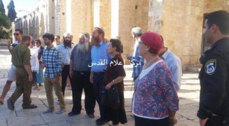 Puluhan Pemukim Ilegal Israel Masuki Masjid Al-Aqsha Menjelang Idul Adha