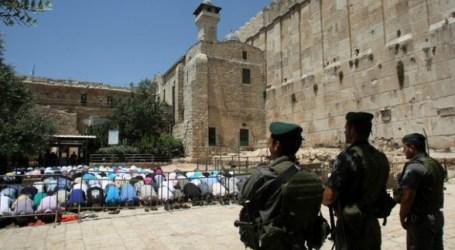 Israel Larang Jamaah Muslim PalestinaMasuki Masjid Ibrahimi di Hebron