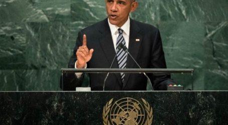 Obama: Israel Tidak Dapat Tempati Tanah Palestina Secara Permanen