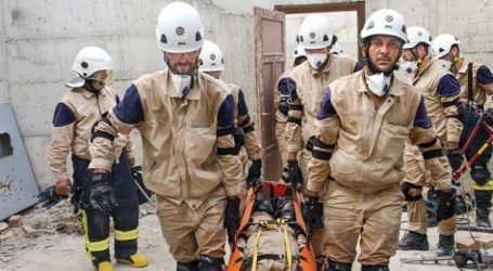 Relawan White Helmets Suriah Tolak Tudingan Dipengaruh Asing