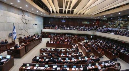 Knesset Tolak RUU Akui Palestina 1948 sebagai Minoritas Bangsa