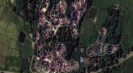 Ratusan Rumah Warga Rohingya Dilahap Api