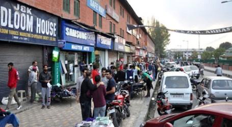 Hari Ke-125 Perlawanan Kashmir, Sekolah dan Perusahaan Masih Tutup
