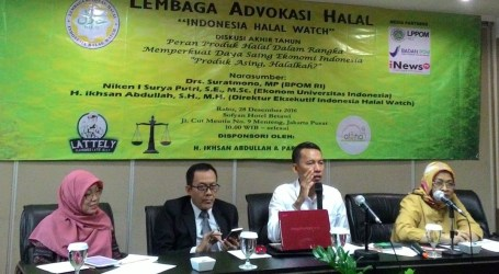 Halal Harus Jadi Label Jaminan Thoyib Produk Indonesia