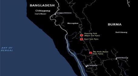HRW: Militer yang Membakar Desa Muslim Rohingya di Rakhine