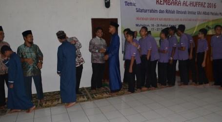 Kembara Santri Imtiaz Melaka Malaysia ke Al-Fatah Berakhir