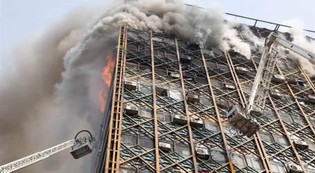 Gedung Plasco di Teheran Roboh, 30 Orang Diduga Tewas