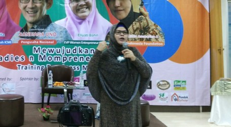 Eliyati Bahri: Bisnis Rumahan Berdayakan Perempuan