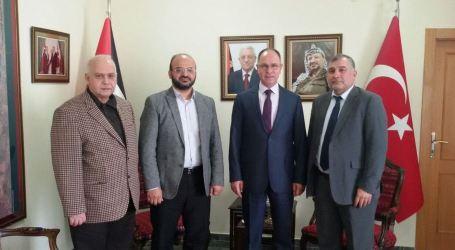 Komite Persiapan Konferensi Bertemu Dubes Palestina di Ankara