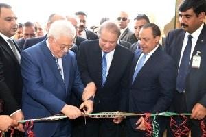 Mahmoud Abbas Resmikan Kedutaan Palestina di Pakistan