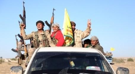 Pertama Kali AS Beri Oposisi Suriah Kendaraan Anti-baja