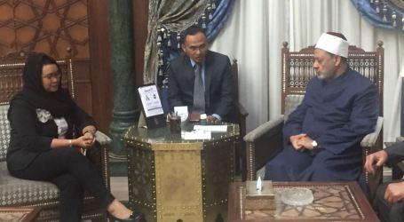 Grand Syeikh Al Alzhar Apresiasi Peran Indonesia Selesaikan Krisis Muslim Rohingya
