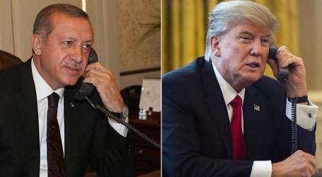 Erdogan dan Trump Bertekad Terus Kerjasama Memerangi Terorisme