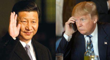 Telepon Xi Jinping, Presiden Trump Komit dengan Kebijakan Satu Cina