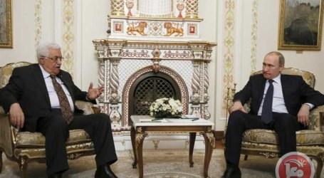 Presiden Palestina Kunjungi Moskow Bahas Konflik Palestina-Israel