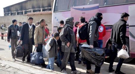 Pejuang Oposisi Suriah dan Keluarganya Dievakuasi dari Homs