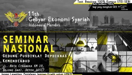 SEBI Gelar Gebyar Ekonomi Syariah Ke-11