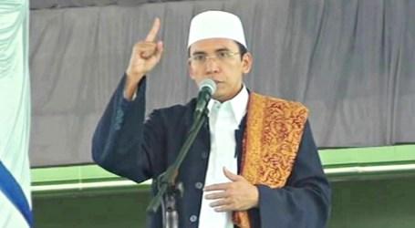 Khutbah Idul Fitri oleh Gubernur NTB di Masjid Hubbul Wathan Islamic Center