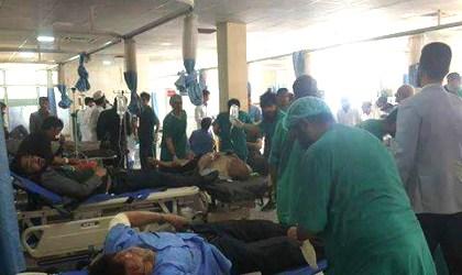 Bom di Kabul Tewaskan 80 Orang, 350 Luka-luka