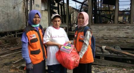 Kebakaran Landa Banjarmasin, Rumah Zakat Salurkan Bantuan