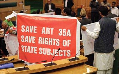 Arsip Kunci Pendukung Pasal 35A untuk Kashmir Hilang