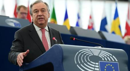 Sekjen PBB Guterres Akan ke Israel, Palestina dan Gaza