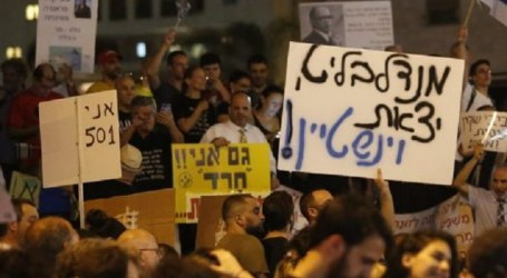 Ribuan Warga Israel Demo Tuntut Netanyahu Dipenjara