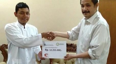 IRMAS Salurkan Donasi untuk Rohingya Melalui MER-C