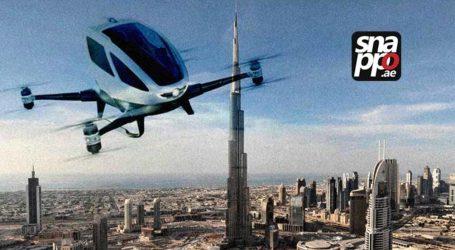 Dubai Uji Coba Taksi Terbang Pertama di Dunia