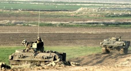 Empat Buldoser Israel Lintasi Perbatasan Gaza Hancurkan Lahan Pertanian