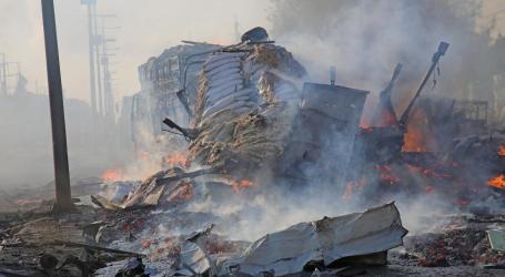 Konvoi Militer AS di Somalia Diserang