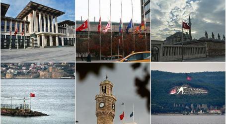 Tragedi Sinai, Turki Kibarkan Bendera Berkabung