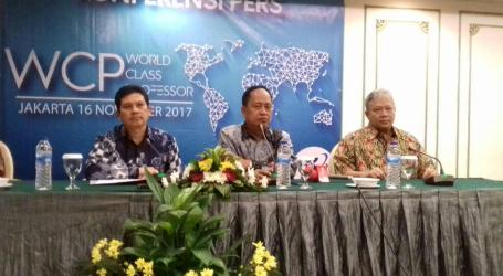 Menristekdikti: World Class Professor 2017 Dongkrak Mutu Publikasi Ilmiah