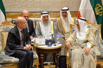 Emir Kuwait-PM Turki Bertemu bahas Krisis Teluk