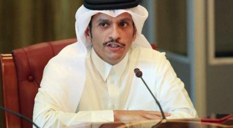 Menlu Qatar Desak Bentuk Mekanisme Arab Lawan Trump