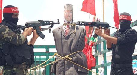 Warga Gaza Protes Rencana AS Akui Yerusalem Ibu Kota Israel